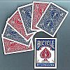 Double Back Deck (One Side Red, One Side Blue) - Bicycle